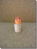Fass mit Feuer (mit LED) für Nenngröße H0