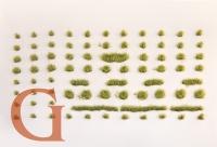Grasbüschel, Höhe 4,5 mm, grasgrün (Variante B)