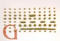Grasbüschel, Höhe 4,5 mm, waldgrün (Variante C)