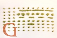 Grasbüschel, Höhe 4,5 mm, Grüngemisch (Variante E)